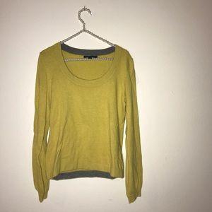 Mustard yellow Boden size 12 sweater